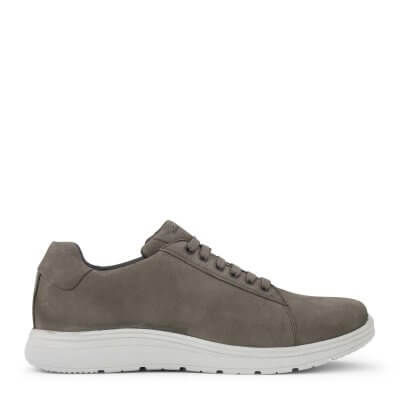 New Feet herresko i grå nubuck