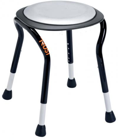 Flot badestol med roterbart sæde