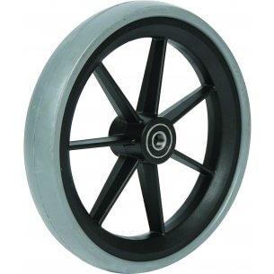 """6"""" gummibanehjul inkl. afstandsbøsninger (150x33)"""
