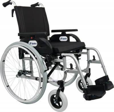 Kørestole i aluminium har lav vægt