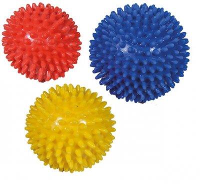 Massagebolde med pigge til hænder og krop