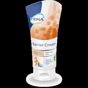 Barriere-creme fra Tena i praktisk tube