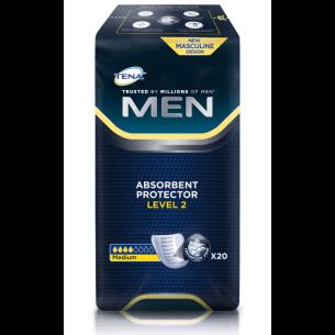 Tena, voksenble til mænd, level 2, vist i pakken