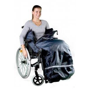 Kørepose til kørestol (fås i 3 størrelser)