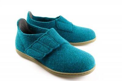 Hjemmesko i varm uld fra New Feet.