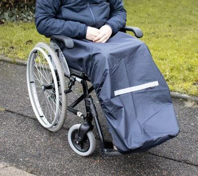 Regnslag til kørestolsbrugere