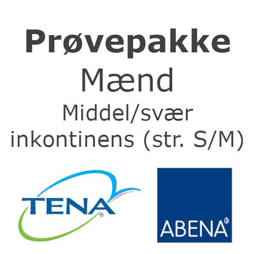 Image of   Prøvepakke til Mænd - middel til svær inkontinens (str. S/M)