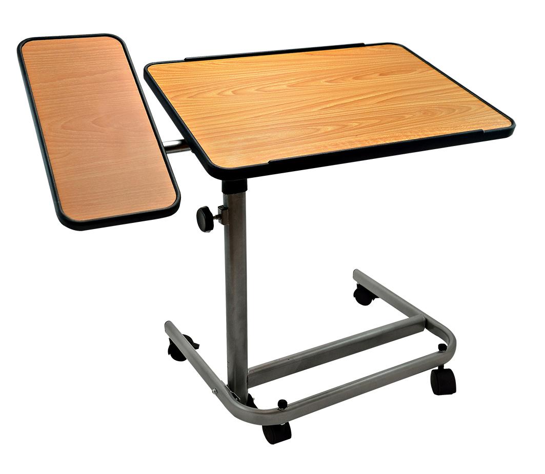 Sengebord på hjul (med sideplade) – pris 1095.00