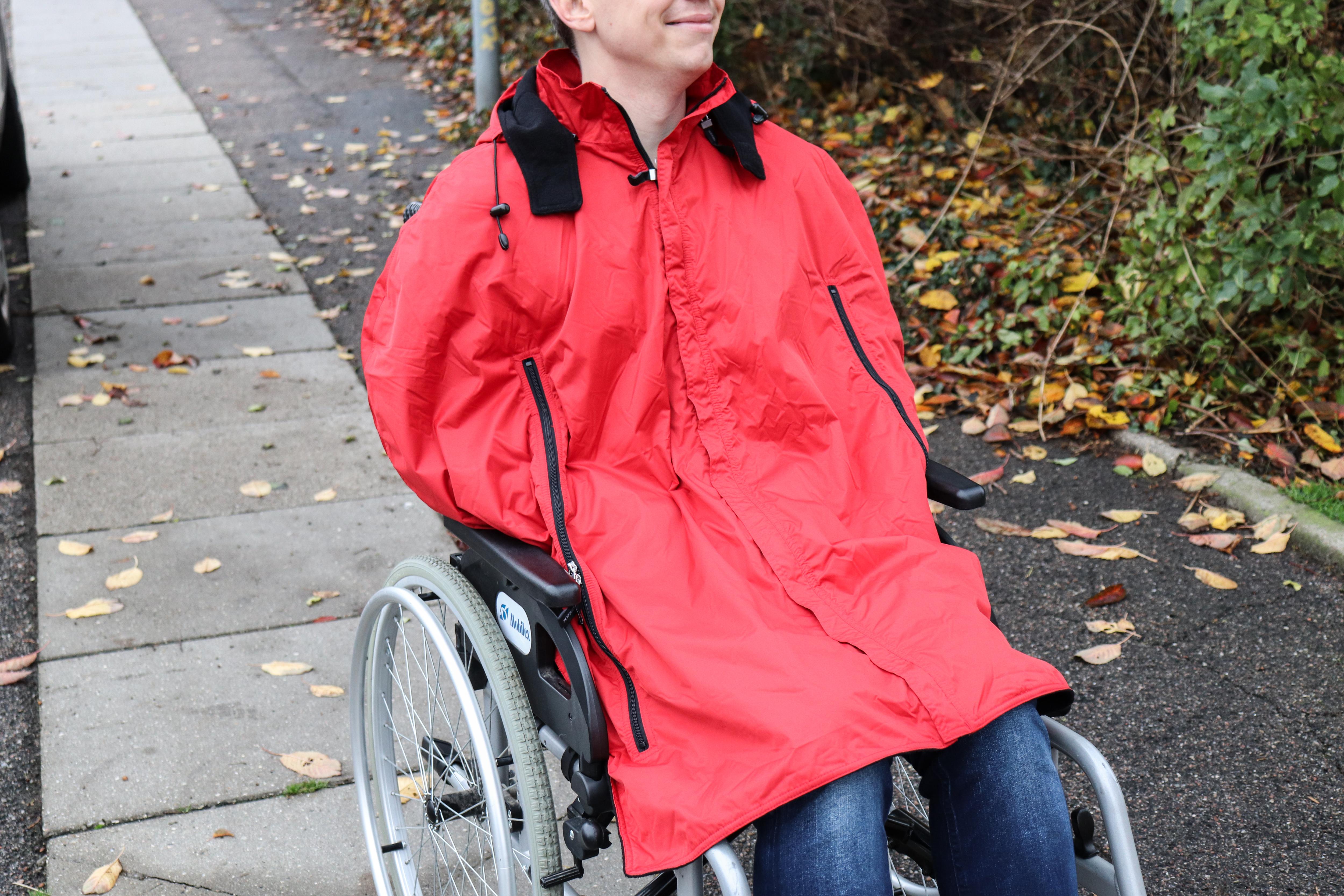 Image of   Skulderslag til kørestolsbrugere (vælg mellem rød og sort)