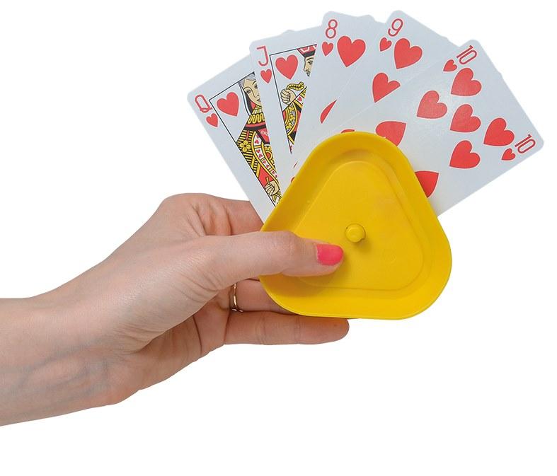 Spillekortholder – pris 80.00