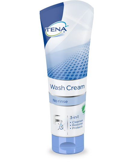 Tena Wash cream (3 in 1), 250 ml. – pris 59.00