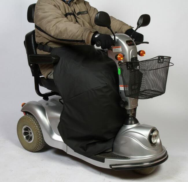 Termodækken til brug på elscootere fra