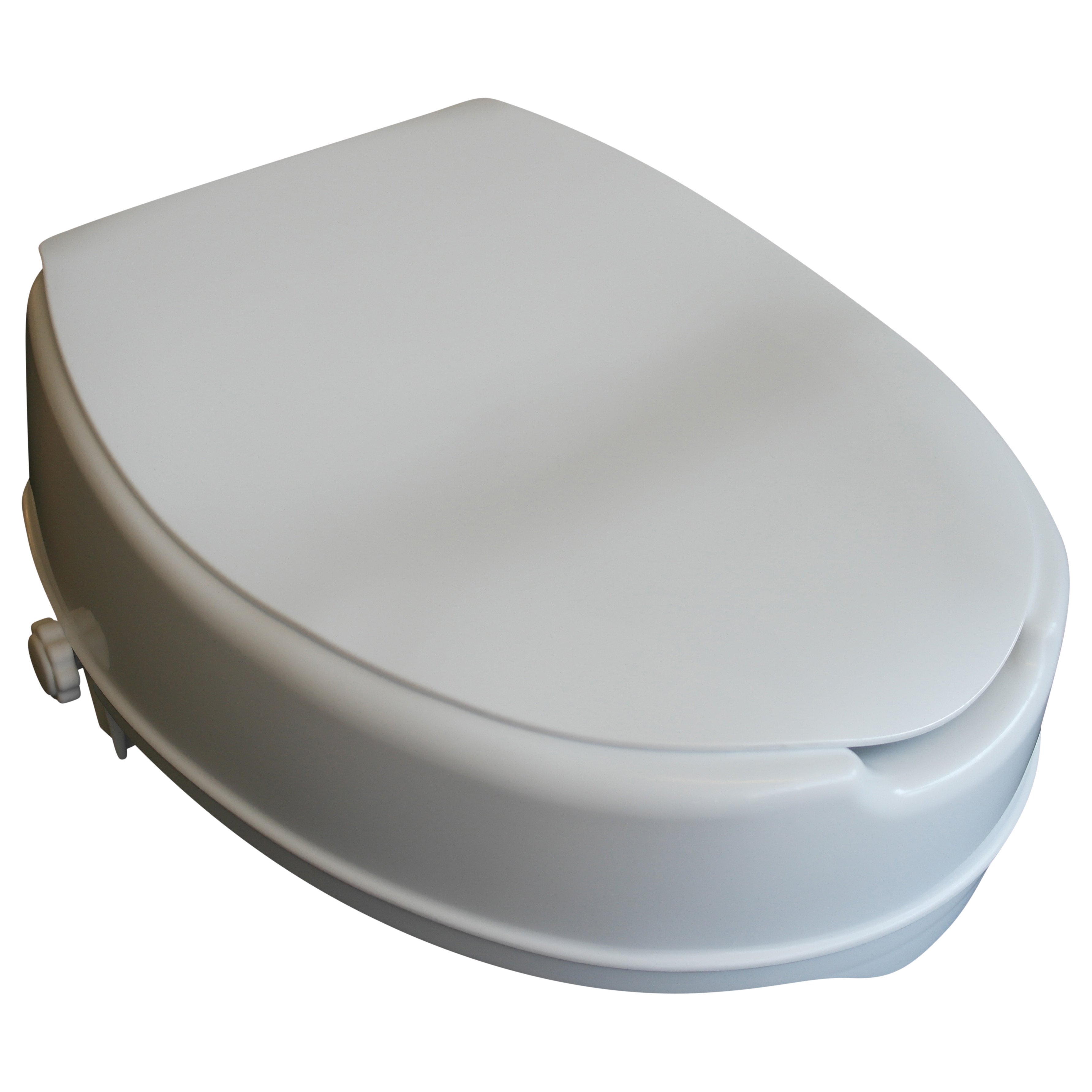 Toiletforhøjer med låg, fra 5 til 15 cm. – pris 259.00