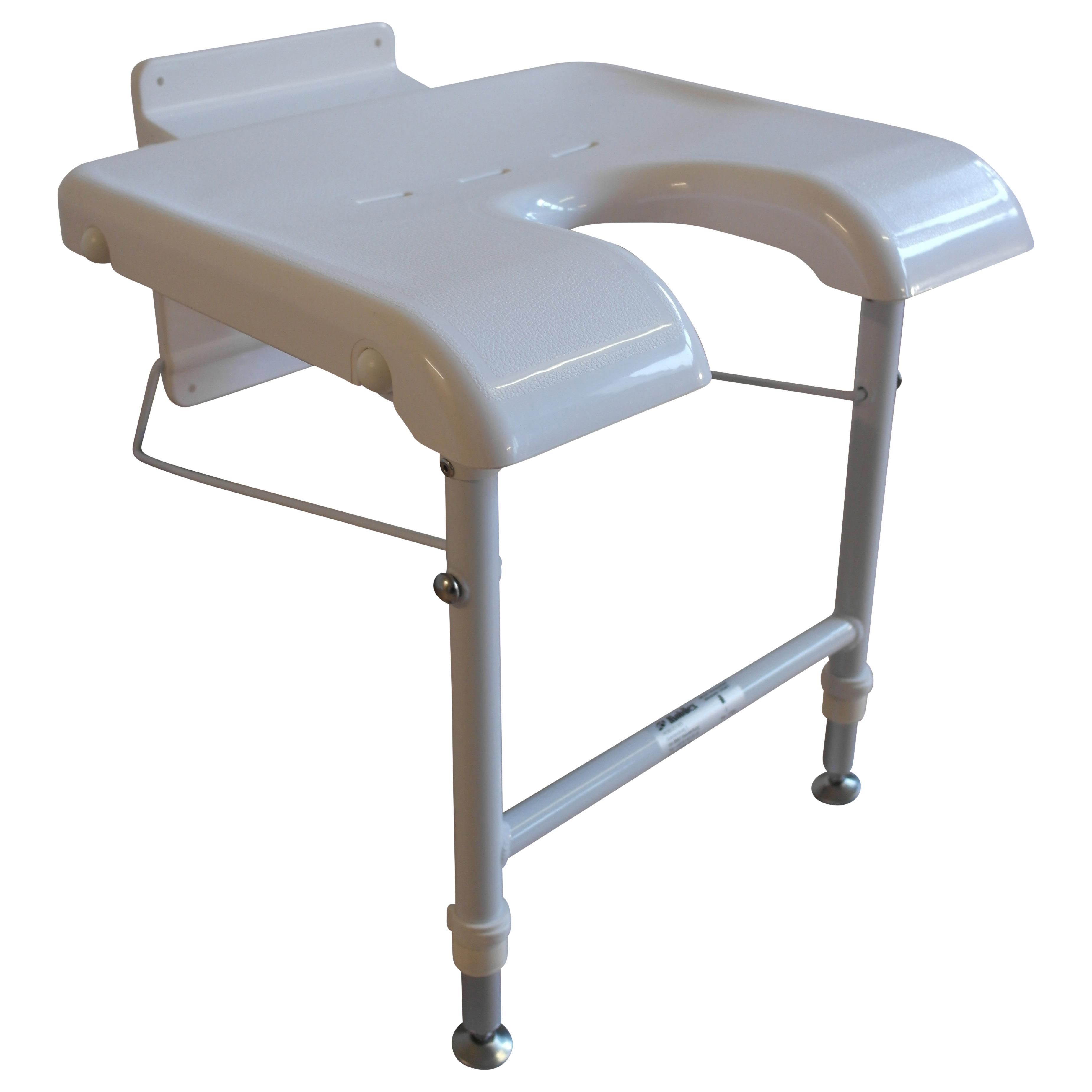 Væghængt badestol – pris 800.00
