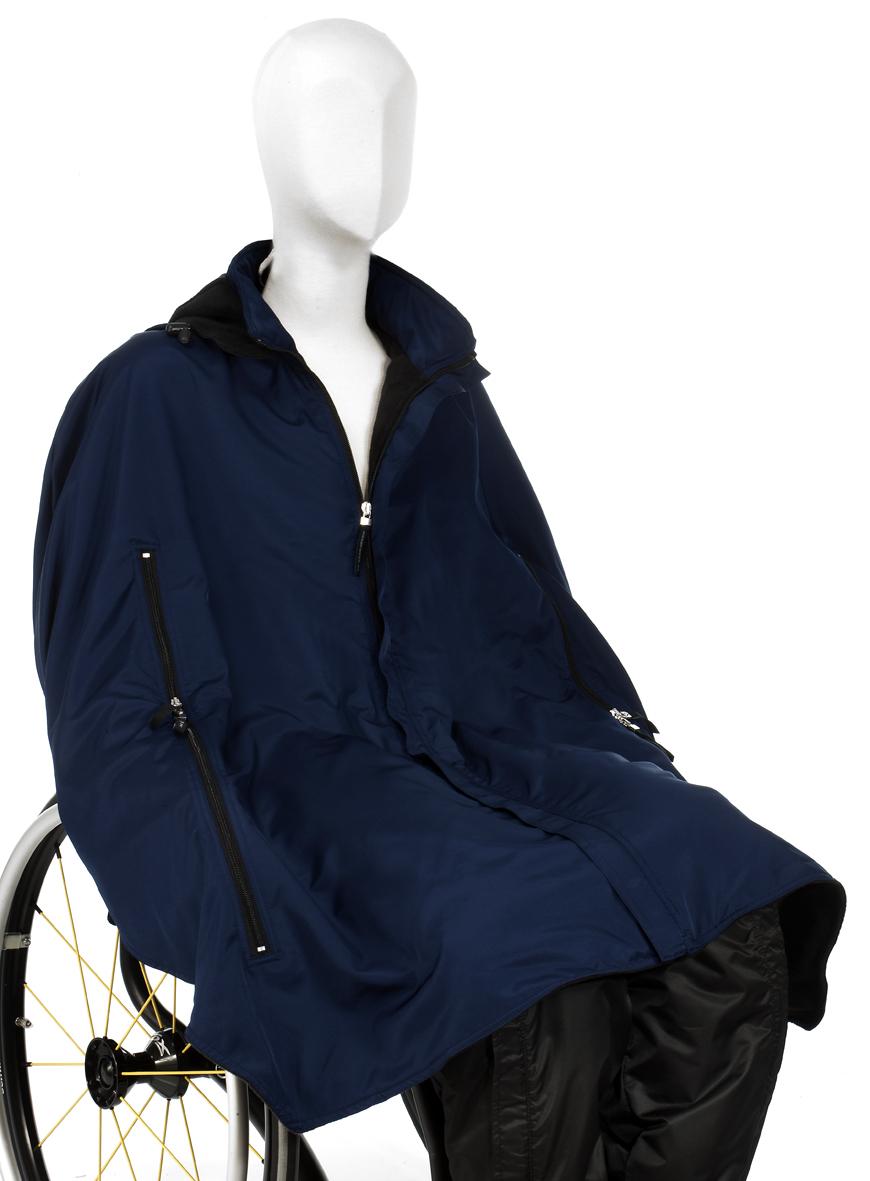 Image of   Skulderslag til kørestolsbrugere (vinter-udgave)