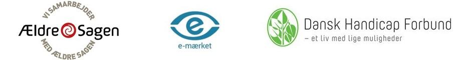 Vi samarbejder med E-mærket og ældresagen